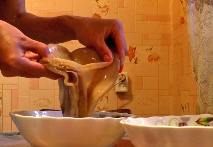 разделение чайного гриба