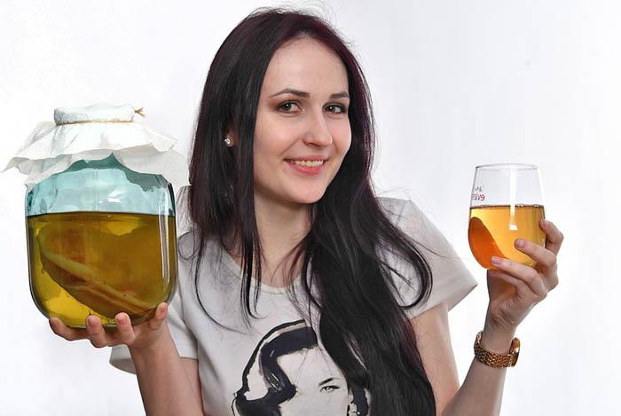 как правильно пить чайный гриб